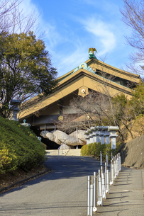 茨城県 出雲大社 拝殿の写真素材 [FYI04629386]