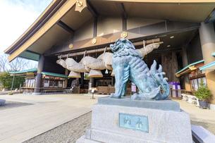 茨城県 出雲大社 拝殿の写真素材 [FYI04629388]