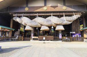 茨城県 出雲大社 拝殿の写真素材 [FYI04629391]