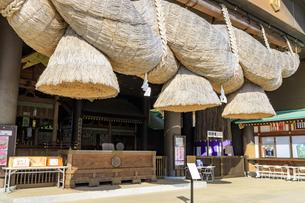 茨城県 出雲大社 拝殿の写真素材 [FYI04629393]
