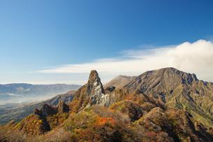 秋の阿蘇根子岳の写真素材 [FYI04629513]