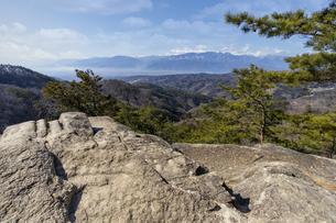 昇仙峡 白砂山の写真素材 [FYI04629548]