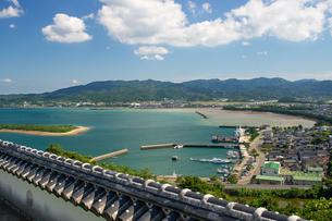 富岡城の写真素材 [FYI04629595]