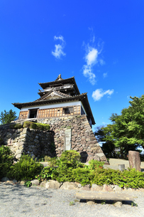 北陸 丸岡城天守の写真素材 [FYI04629818]