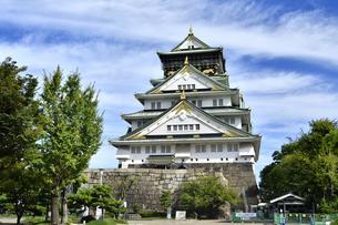 大阪城の写真素材 [FYI04629831]