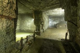 西伊豆 伊豆石採掘場跡 室岩洞の写真素材 [FYI04629912]