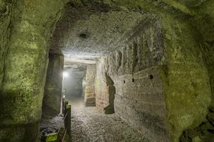 西伊豆 伊豆石採掘場跡 室岩洞の写真素材 [FYI04629914]