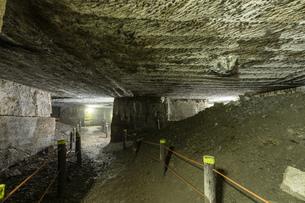 西伊豆 伊豆石採掘場跡 室岩洞の写真素材 [FYI04629915]
