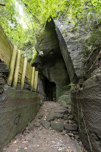 西伊豆 伊豆石採掘場跡 室岩洞の写真素材 [FYI04629916]