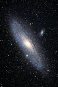 アンドロメダ銀河の写真素材 [FYI04629990]