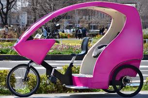 観光地の三輪車の写真素材 [FYI04630984]