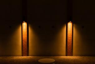 街灯のある風景の写真素材 [FYI04631351]