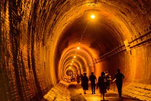 関西の風景 神戸市 湊川隧道の写真素材 [FYI04631408]