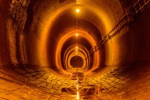 関西の風景 神戸市 湊川隧道の写真素材 [FYI04631410]