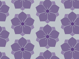 家紋を使ったパターンのイラスト素材 [FYI04631585]
