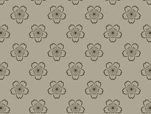 家紋を使ったパターンのイラスト素材 [FYI04631591]