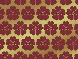 家紋を使ったパターンのイラスト素材 [FYI04631593]