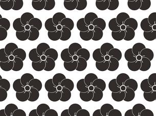 家紋を使ったパターンのイラスト素材 [FYI04631596]