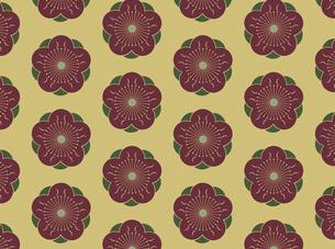 家紋を使ったパターンのイラスト素材 [FYI04631607]