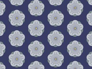 家紋を使ったパターンのイラスト素材 [FYI04631608]