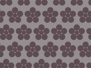 家紋を使ったパターンのイラスト素材 [FYI04631609]