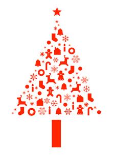 クリスマスツリーのイラストのイラスト素材 [FYI04631759]
