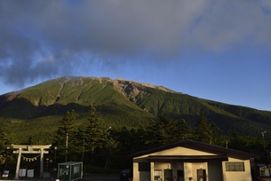 田ノ原 御嶽山の写真素材 [FYI04631840]