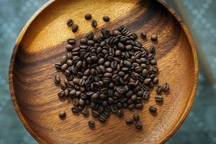 コーヒー豆の写真素材 [FYI04631844]