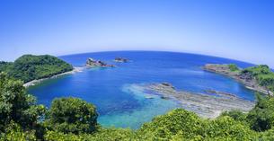 島根県 風景 海岸線と青空の写真素材 [FYI04631891]