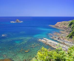 島根県 風景 海岸線と青空の写真素材 [FYI04631898]