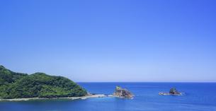 島根県 風景 海岸線と青空の写真素材 [FYI04631903]