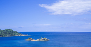島根県 風景 海岸線と青空の写真素材 [FYI04631911]