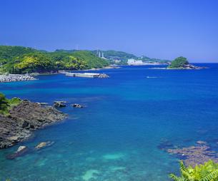 島根県 風景 海岸線と青空の写真素材 [FYI04631926]