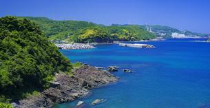 島根県 風景 海岸線と青空の写真素材 [FYI04631932]
