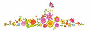 春の花のイラスト素材 [FYI04632187]