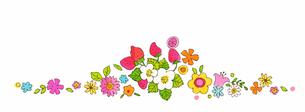 春の植物とイチゴ のイラスト素材 [FYI04632188]