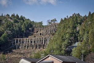 紀州鉱山選鉱場跡の写真素材 [FYI04632408]