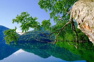 然別湖の写真素材 [FYI04632502]
