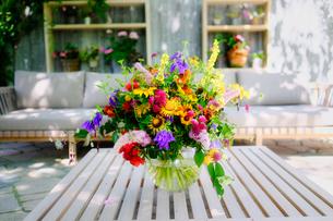 花の飾りの写真素材 [FYI04632505]