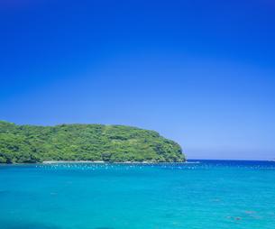 島根県 風景 海岸線と青空の写真素材 [FYI04632617]