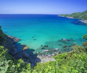 島根県 風景 海岸線と青空の写真素材 [FYI04632651]