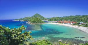 島根県 風景 海岸線と青空の写真素材 [FYI04632668]