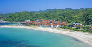 島根県 風景 海岸線と青空の写真素材 [FYI04632679]