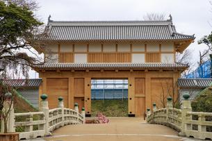 茨城県 水戸城 大手門の写真素材 [FYI04632787]