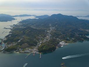 愛媛県 岩城島の写真素材 [FYI04633181]