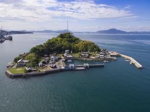 愛媛県 来島の写真素材 [FYI04633186]