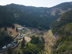 徳島県 下影棚田の写真素材 [FYI04633205]
