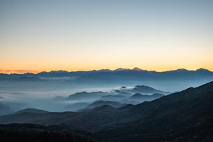 夢の庭園の日没の写真素材 [FYI04633390]