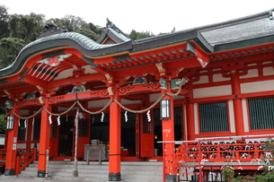 淡嶋神社の写真素材 [FYI04633418]