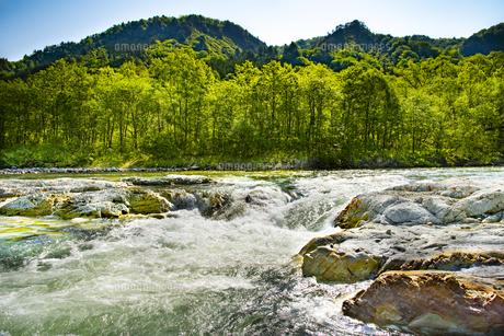 寒河江川の写真素材 [FYI04633496]